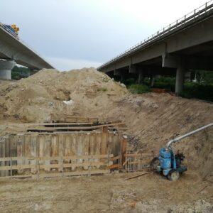 Drenaggio per realizzazione ponti